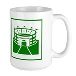 Green Stadium Large Mug