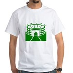 Green Stadium White T-Shirt