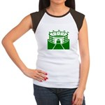 Green Stadium Women's Cap Sleeve T-Shirt
