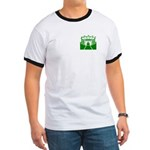 Green Stadium Ringer T