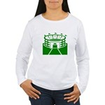 Green Stadium Women's Long Sleeve T-Shirt