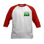 Green Stadium Kids Baseball Jersey