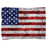 American flag grunge Pillow Sham