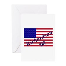 Unique Bill richardson for president Greeting Cards (Pk of 20)