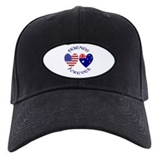 Australia USA Friends Baseball Hat
