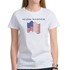Mark Warner (american flag) Tee