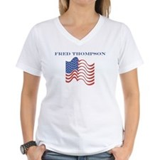 Fred Thompson (american flag) Shirt