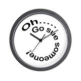 Oh, go sue someone! Wall Clock