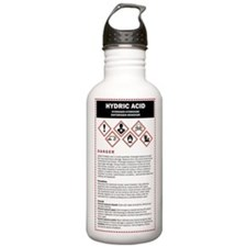Hydric Acid / DHMO War Water Bottle