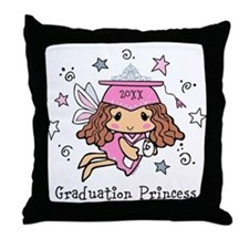 Graduation Princess Personalized Throw Pillow