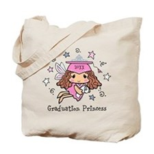 Graduation Princess Personalized Tote Bag