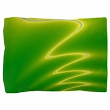 Yellow Streak Pillow Sham