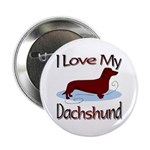 Dachshund Button