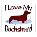 Dachshund Small Poster