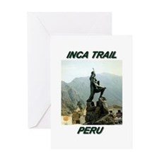 INCA TRAIL Greeting Card