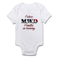 Future MWD handler Infant Bodysuit