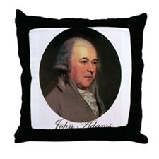 John Adams Throw Pillow