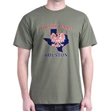 Houston Polish Texan T-Shirt