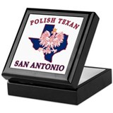 San Antonio Polish Texan Keepsake Box