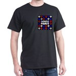 Patriotic Pirates Dark T-Shirt