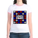 Patriotic Pirates Jr. Ringer T-Shirt
