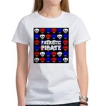 Patriotic Pirates Women's T-Shirt