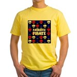Patriotic Pirates Yellow T-Shirt