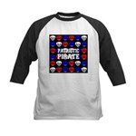 Patriotic Pirates Kids Baseball Jersey