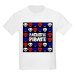 Patriotic Pirates Kids Light T-Shirt