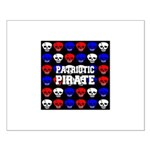 Patriotic Pirates Small Poster