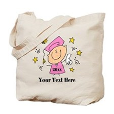 Cute Girl Graduate Tote Bag