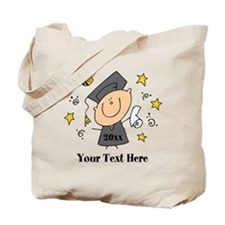 Cute Boy Graduate Tote Bag