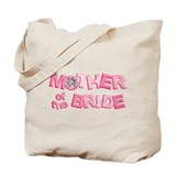 BP Letters Mother of Bride Tote Bag