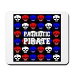 Patriotic Pirates Mousepad