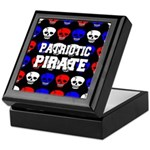 Patriotic Pirates Keepsake Box