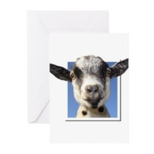 Unique Pygmy goats Greeting Cards (Pk of 10)