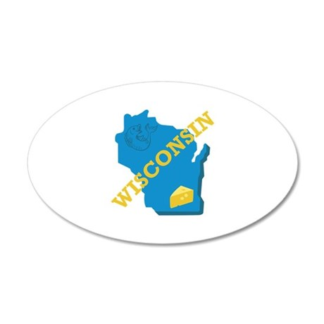 Wisconsin Wall Decal