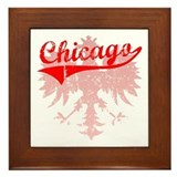Chicago Polish w/Eagle Framed Tile
