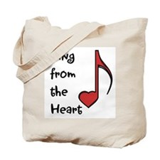 Sing from the Heart Tote Bag