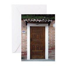 Old Town Door #1 Greeting Card (10Pk)
