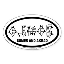 Sumer and Akkad International Auto Decal