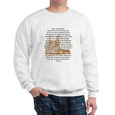 Truck Driver's Prayer Sweatshirt