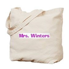 Mrs. Winters Tote Bag