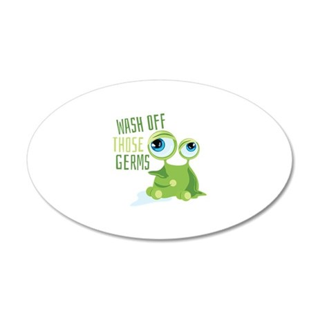 Wash Off Germs Wall Decal