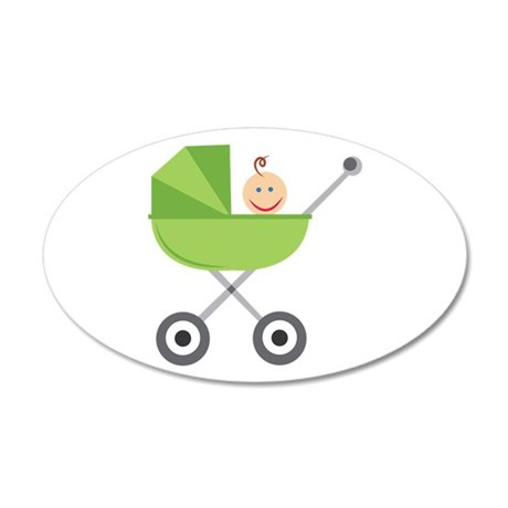 Baby Buggy Wall Decal