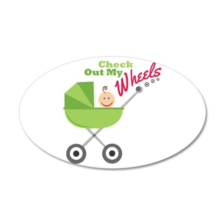 My Wheels Wall Decal