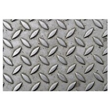 Steel Checker Plate Industrial Chic