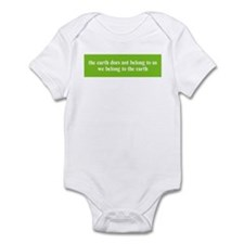 We belong to the Earth Infant Bodysuit
