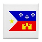 Cajun Goodies Tile Coaster
