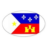 Cajun Goodies Oval Sticker